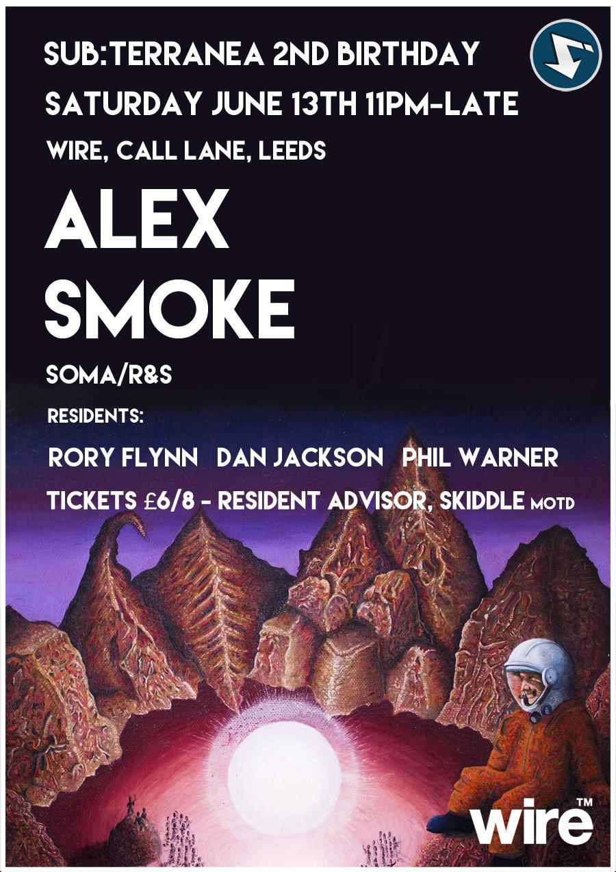 alex smoke poster